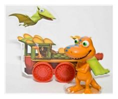 Dinosaur Train Cake Set
