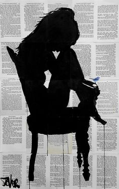 View LOUI JOVER's Artwork on Saatchi Art. Find art for sale at great prices from artists including Paintings, Photography, Sculpture, and Prints by Top Emerging Artists like LOUI JOVER. Tattoo Avant Bras, Newspaper Art, Drawn Art, Silhouette Art, Erotic Art, Belle Photo, Amazing Art, Book Art, Saatchi Art