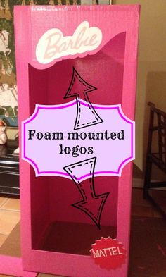 How To Make A Photo Booth for a Barbie Party - Smarty Pants Mama