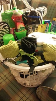 College Graduate Dorm starter kit Zebra and lime by ZesignsDesigns, $65.00