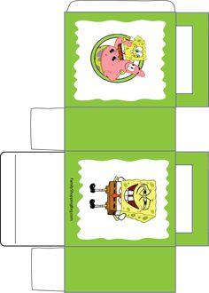 Printable favor box