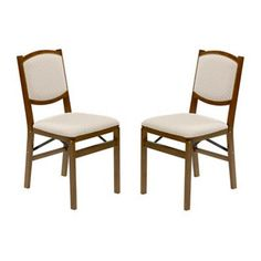 Buy Stakmore Contemporary Wood Folding Chairs in Fruitwood (Set of 2) from Bed Bath & Beyond