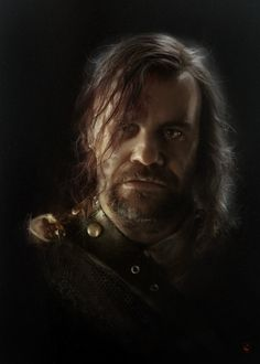 Polish artist Anja Dalisa has been assiduously illustrating every character from Game of Thrones in a photorealistic manner. I'm particularly enjoying Sandor Clegane, whose cheerful visage belongs in every rumpus room across the land.