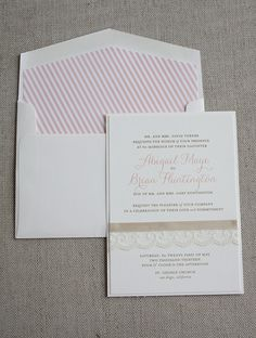 ribbon-and-lace... a little vintage-y, a little romantic, and a bit of a twist on the traditional.