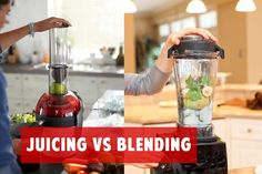 Understand the difference between Juicing vs Blending #juicing #blending #tips #blender #juicer #tips