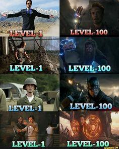 I Love You 3000 on Level 100 _ marvel.hub For More Amazing Content _ C 2 superhero. Marvel Dc Comics, Marvel Avengers, Funny Marvel Memes, Dc Memes, Marvel Films, Marvel Jokes, Marvel Characters, Marvel Heroes, Funny Movie Memes