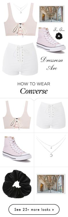 """Lucy's Outfit #17"" by fedelinewiarta on Polyvore featuring Puma, Topshop, Converse and Miss Selfridge"