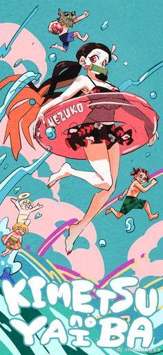 kimetsu no yaiba Slayer Meme, Demon Slayer, Fan Art, Gorillaz, Anime Demon, Animes Wallpapers, Illustrations, Character Illustration, Drawing Reference