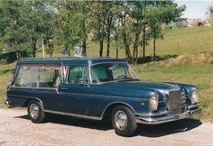 -1964 Mercedes 220SE Leichenwagen / Hearse in Italy