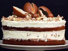 Kinderschokolade-Torte backen - so geht's!   LECKER