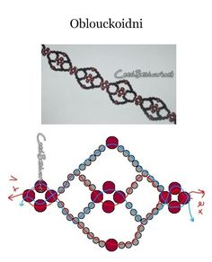 Seed bead jewelry Easy pattern ~ Seed Bead Tutorials Discovred by : Linda Linebaugh Seed Bead Jewelry, Bead Jewellery, Seed Beads, Diy Schmuck, Schmuck Design, Beaded Necklace Patterns, Beaded Bracelets, Necklaces, Beaded Choker