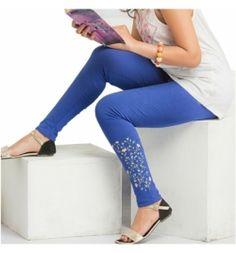 c8cccfc43feb9 Dubai Shopping, Blue Leggings, Jeggings, Uae, Capri Pants, Capri Trousers