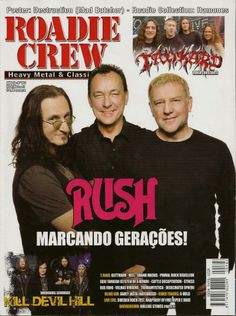 Rush Band Lyrics   Rush is a Band Blog: Rush feature in August issue of Brazilian ...
