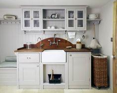 Exdisplay Bespoke Handpainted Utility Arrangement With Belfast Prepossessing Designer Kitchens For Sale Decorating Inspiration