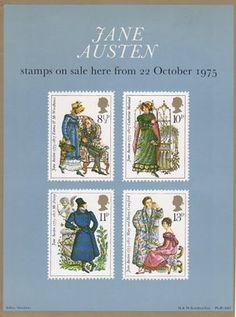 Jane Austen (1975) : Collect GB Stamps