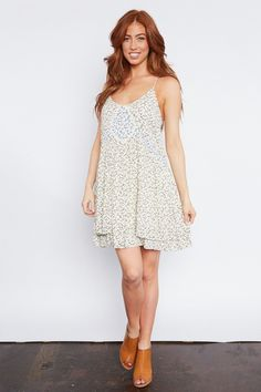 Logan Sundress - Ditsy Floral Print Sundress