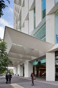 Image 13 of 29 from gallery of Antara I Corporate Building / Sordo Madaleno Arquitectos. Photograph by Paul Rivera Canopy Glass, Window Canopy, Canopy Curtains, Canopy Bedroom, Canopy Tent, Fabric Canopy, Canopies, Backyard Canopy, Arquitetura