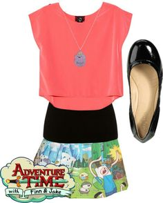 Adventure time outfit