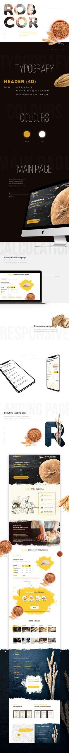 ROBCOR/ LANDING PAGE +FREE MOCKUP IPHONE