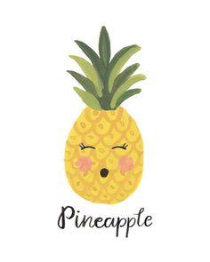 52 Ideas for pineapple art diy life Pinapple Painting, Pinapple Art, Pineapple Drawing, Pineapple Face, Pineapple Print, Pineapple Quotes, Pineapple Pictures, Summer Wallpaper, Iphone Wallpaper