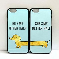 Welcome   * This is a beautiful set of 2 Phone cases for Couples. Could be given as an amazing gift for best friend/lover or just to show your belonging to one another.  ** If you want to have your na