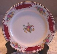 I have the Serving Platter in this print!  Homer Laughlin Brittany Majestic Pattern - my mother's very first dishes