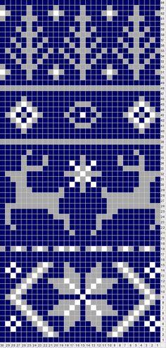 fair isle pattern | Tricksy Knitter by Megan Goodacre: Fair Isle Scarf Pattern For Noel