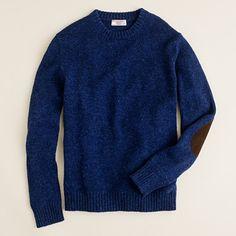 //\\ Wallace & Barnes,  J.Crew Shetland Sutherland sweater indigo