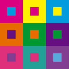 Diseño gráfico y teoría del color: Los diferentes tipos de contraste – Blog.Megacursos.com | VFX, 3D y diseño gráfico Pop Art Colors, Color Pop, Colours, Colour Schemes, Color Combos, Bauhaus Colors, Johannes Itten, Fashion Sketch Template, Color Psychology