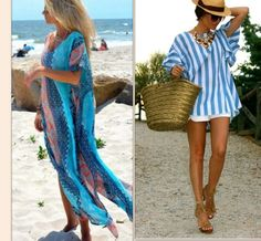 Beach Time Assessories – wanaabeehere Beachwear, Cover Up, Stylish, How To Wear, Dresses, Fashion, Fashion Styles, Beach Outfits, Dress