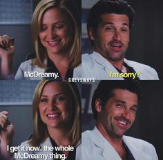 Arizona & McDreamy - Grey's Anatomy