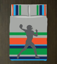 1000 ideas about football player gifts on pinterest for Boys rugby bedroom ideas