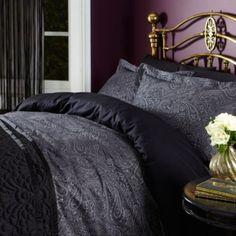 Buy Biba Lucia Jacquard Double Duvet Cover from our Double Duvet Covers range - Tesco