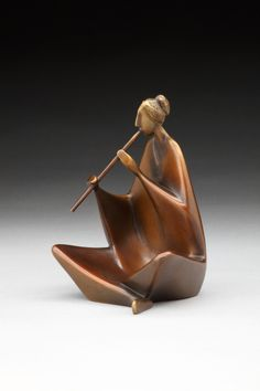 Mountain Music Abstract figure bronze sculpture by CAROL GOLD available at Columbine Gallery home of the National Sculptors' Guild Colorado's Largest Fine Art Source Specialists in Public Art