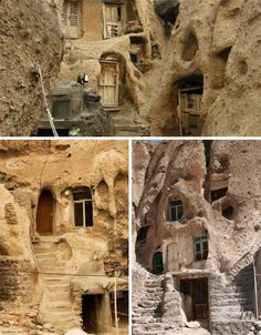 Curious Places: Cave houses (Kandovan/ Iran)