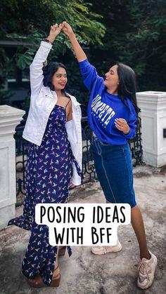 Friend Poses Photography, Teenage Girl Photography, Portrait Photography Poses, Photography Poses Women, Girl Photography Poses, Best Photo Poses, Girl Photo Poses, Girl Poses, Stylish Photo Pose