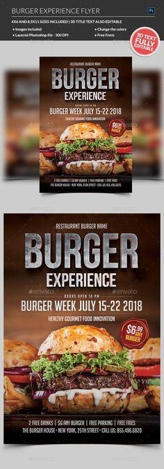 trifold fast food menu flyer pinterest print templates food