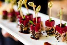 photo credit: Liga Photography | www.ligaphotography.com Well now we get to the fun part of all this talk of wedding meals– creating the menu! We've already covered choosing your catere…