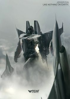 """This almost makes me want to root for The Decpticons. """"Starscream, Attack!!!"""""""