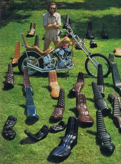 King Queen seat 70's Chopper #Motorcycles                                                                                                                                                     More