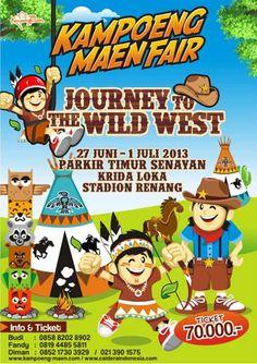 Kampoeng Maen Fair 27 Juni - 1 Juli 2013 : Parkir Timur Senayan , Kridaloka Stadiun Renang #Creative #Activity #Children #Playground #KampoengTradisional