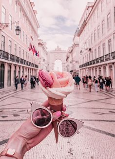 My Guide to Wandering Lisbon: The Rainbow-Hued City Aesthetic Food, Pink Aesthetic, Aesthetic Drawing, Tumblr P, My Best Secret, Pink Wallpaper, Photo Location, Cute Food, Belle Photo