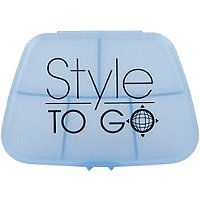 Style To Go - 5 Compartment Blue Pill Case in  #ultabeauty