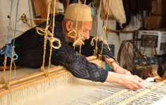Weaving in Morocco. Photo by Cate Frost