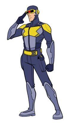 Rediseño de los X-Men por Michael Lunsford - Cyclops