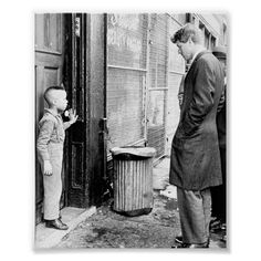 Robert Kennedy with Child Poster Size: ' '. Color: black. Gender: unisex. Age Group: adult. Material: Value Poster Paper (Matte). Robert Kennedy, Les Kennedy, Jackie Kennedy, Senator Kennedy, Ethel Kennedy, Kids Poster, A4 Poster, Black Art, White Art