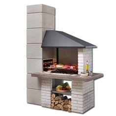 backyard design – Gardening Tips Barbecue Garden, Outdoor Barbeque, Brick Grill, Patio Grill, Outdoor Fireplace Designs, Backyard Fireplace, Backyard Patio Designs, Backyard Bbq, Design Barbecue