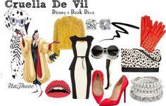"Cruella De Vil ""DDD"""" by natheoc on Polyvore"