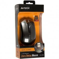 A4TECH G3-200N wireless optical mouse  A4TECH G3-200N wireless optical mouse Tracking Method: Optical DPI: 1000 Hand Orientation: Both Hands Interface Type: USB Wireless Technology: 2.4ghz Distance:15 m Needle Optical Engine Technology More accurate positioning; No Slow-moving, Shaking or Over the Edge Dusproof Mouse Wheel Press Key: One Key for 16 different shortcuts (only with installed software)
