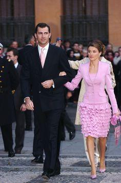 Prince Felipe and Princess Letizia